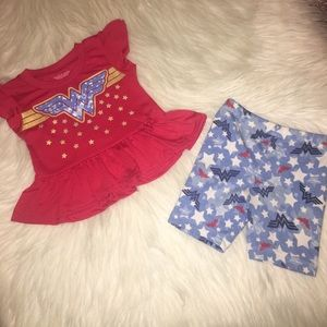 Girl outfit Wonder Woman